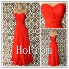 A-Line Chiffon Prom Dresses,Strapless Prom Dress