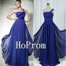 One Shoulder Prom Dresses,Chiffon Prom Dress