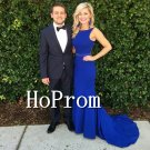 Royal Blue Prom Dress,Floor Length Prom Dresses