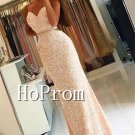 Spaghetti Straps Prom Dress,Sparkly Sweetheart Beading Prom Dresses