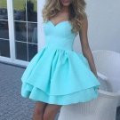 Sweetheart Simple Mint Homecoming Dresses
