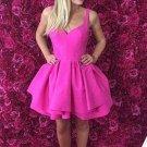 Sexy Short Homecoming Dress, Pink Sweetheart Homecoming Dress