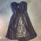 Black Sweetheart Sequins Homecoming Dress, Sexy Homecoming Dress