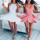 Color Pink Cute Short Prom Dress, Cute Homecoming Dress,Homecoming Dress