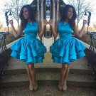 Short Homecoming Dresses Charming Girls Graduation Gowns