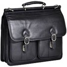 Double Compartment Laptop Case - Top-loading Should Strap Travel