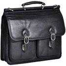 Double Compartment Laptop Case - Top-loading Should Strap Travel