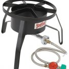 High-Pressure Outdoor Gas Cooker Propane Grilling Outdoor RV Tailgate