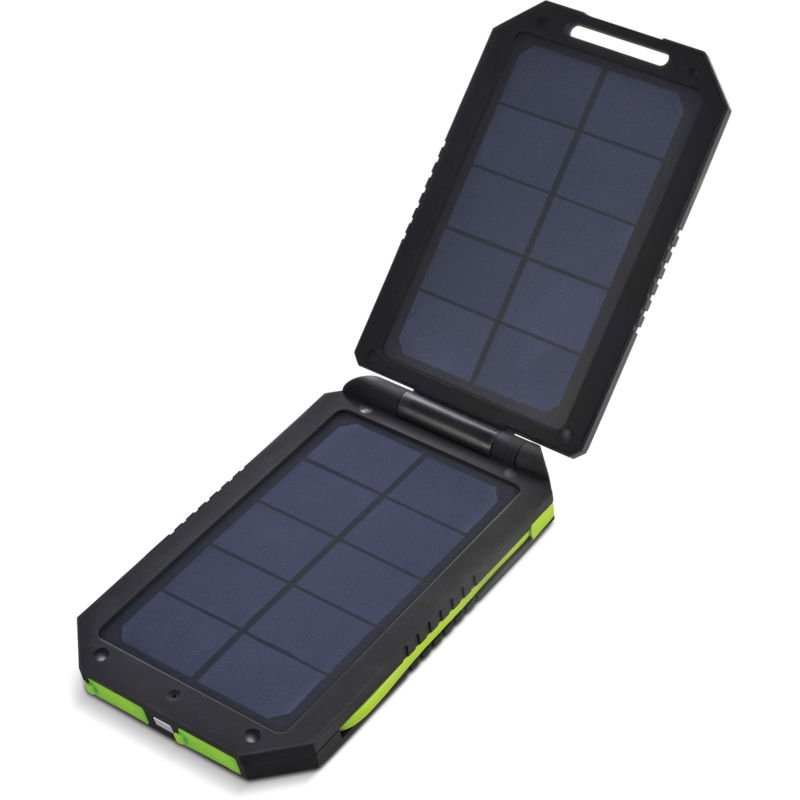 3-Output USB Solar Battery Pack Chargers Assessors