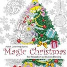 Adult Coloring Book: Magic Christmas