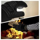 1- Pair Extreme Heat Resistant Certified GlovesThick but Light-Weight & Flexible