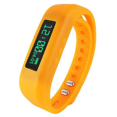 Fitness Wristband With Bluetooth Pedometer  Calorie Counter