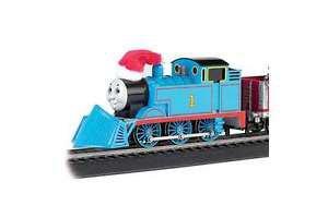 Trains Thomas Christmas Express Train Set, HO Scale Holiday Decoration New