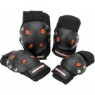 Knee And Elbow Pads Mongoose Gel Protective Pad Set Skateboarding Bike Bmx New