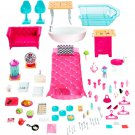 Barbie Dreamhouse three floors 7 rooms 70+ accessories and a working elevator