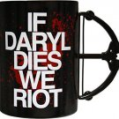 Walking Dead If Daryl Dies We Riot Crossbow Mug Walking Dead Series Coffee Cup
