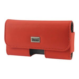 Reiko Horizontal Pouch Iphone5 Plus Orange Cell Phone With Cover
