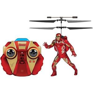 2-Channel Marvel Iron Man Helicopter with Action Phrases LED