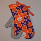 NCAA Clemson University Oven Mitt Grill Set