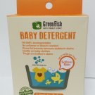 Greenfish Baby All in One Laundry Detergent. 20 Single use packets
