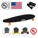 Cool&Fun Electric Scooter Segway Smart Balance Board Electric Skateboard Hoverboard 4 Wheel Orange