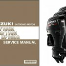 Suzuki DF100A DF115A DF140A Outboard Motor Service Repair Manual CD DF 100 115