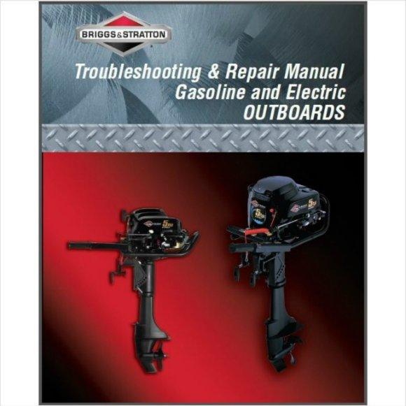 Briggs & Stratton 5 HP Outboard Motor Service Repair Manual CD