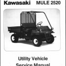 1993-2000 Kawasaki MULE 2510 / 2520 UTV Service Repair Workshop Manual CD KAF620