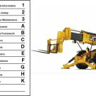 JCB Loadall 530 533 535 540 Telescopic Handler Service Repair Manual CD