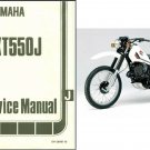 1978-1984 Yamaha XT550 ( XT 550 J ) Service Manual on a CD