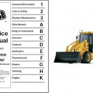 JCB 2CX Backhoe Loader Tractor Service Repair Manual CD  ..-  2 CX