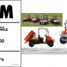 Kubota RTV900 UTV Service Repair Workshop Manual CD - RTV 900