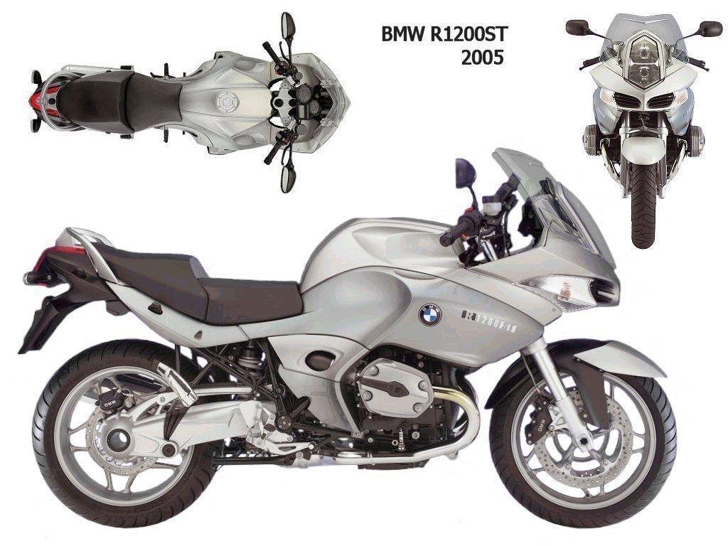 05-08 BMW R1200ST RepROM Service Repair & User Manual CD - Multilingual - R 1200