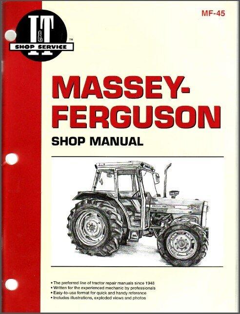 Massey Ferguson MF 362 365 375 383 390 390T 398 Tractor Service Repair Manual CD