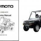 CFMoto CF500-3 Rancher UTV Service Repair Manual CD -- CF Moto CF 500 3
