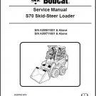 Bobcat S70 Skid Steer Loader Service Repair Workshop Manual CD - S 70