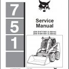 Bobcat 751 Skid Steer Loader Service Repair Workshop Manual CD