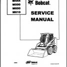 Bobcat M444 M500 M600 M610 Skid Steer Loader Service Repair Manual CD