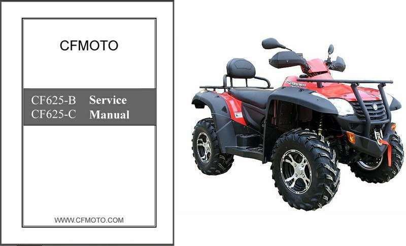 CFMoto X6 Terralander 600 EFI CF625-B / CF625-C ATV Service Repair Manual CD