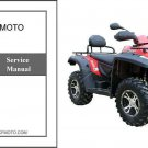 CFMoto X6 Terralander 600 EFI CF625-B / CF625-C ATV Service Repair Manual CD