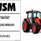 Kubota M8540 M9540 Tractor Service Repair Workshop Manual CD - M 8540 9540
