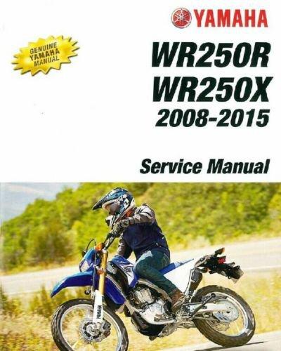 2008-2015 Yamaha WR250R / WR250X Service Manual on a CD