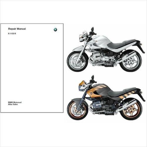 2001-2006 BMW R1150R Service Repair Manual CD -- Multilingual --- Rockster