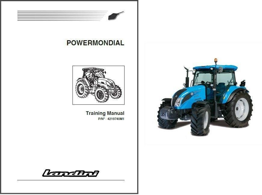 Landini Powermondial 95 105 115 Tractor Repair Workshop Service Manual CD