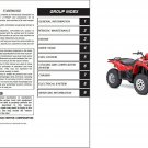 03-07 Suzuki LT-F500F Vinson 500 4x4 Service Repair Manual CD