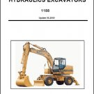 Case 1188 Hydraulic Excavator Service Repair Manual CD
