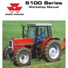 Massey Ferguson 6110 6120 6130 6140 6150 6160 6170 6180 6190 Service Manual CD