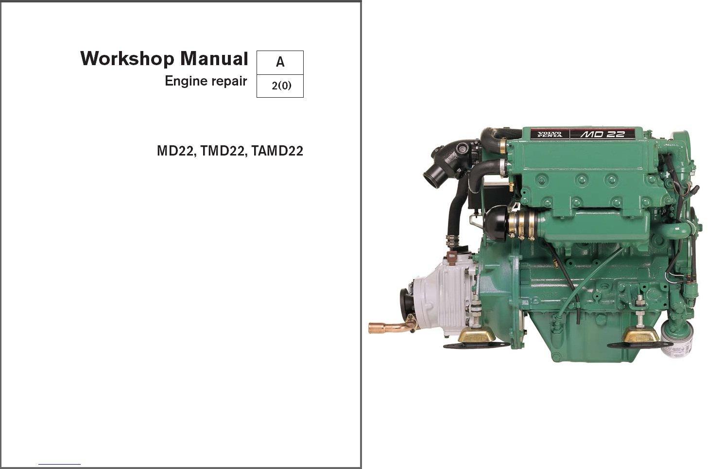 volvo penta md22, tmd22, tamd22 marine engines service repair manual cd Volvo Penta Lower Unit