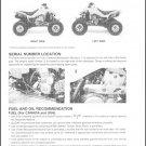 2002-2008 Suzuki LT-Z400 QuadSport Service Repair Manual on a CD