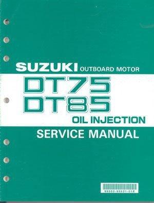 93-00 Suzuki DT75 DT85 2-Stroke Outboard Motor Service Repair Manual CD - DT 75 85